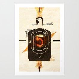 Target Man Art Print