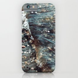 Pebbles by the Bay iPhone Case