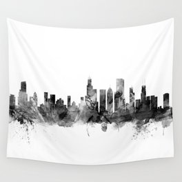 Chicago Illinois Skyline Wall Tapestry