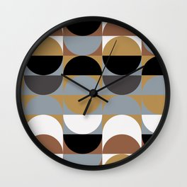 Vibes from The Seventies Wall Clock