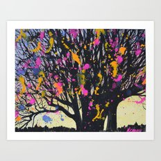 Tree Magic Art Print