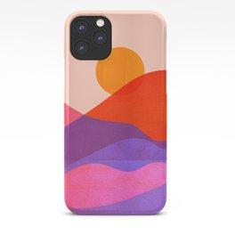 Abstraction_SUN_OCEAN_BEACH_Minimalism_010A iPhone Case