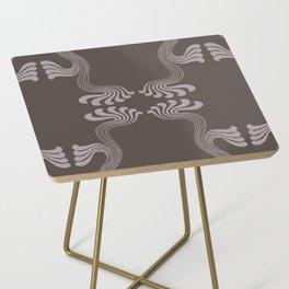 Art Nouveau Paisley Side Table