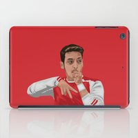 arsenal iPad Cases featuring Mesut Ozil by siddick49