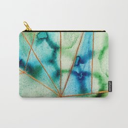 """Geo Ocean"" Carry-All Pouch"