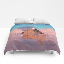 Chrome Atari Comforters