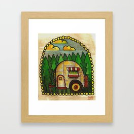 Camper Framed Art Print