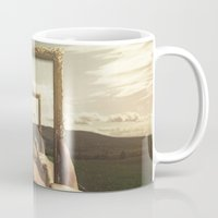 frame Mugs featuring Empty Frame by Seamless