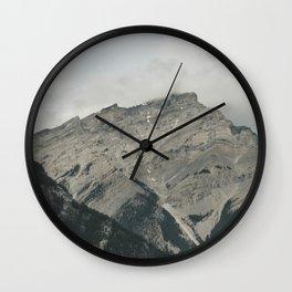 Downtown Banff Wall Clock