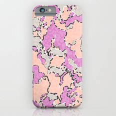 Cartografía de Orquídea  Slim Case iPhone 6s
