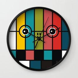 color bars Wall Clock