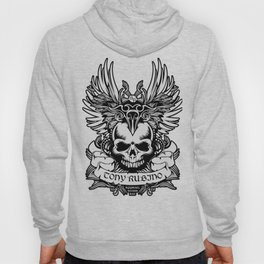 Rubino Skull Garden Rise Wings Hoody