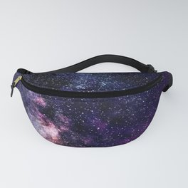 The Milky Way Midnight Blue & Purple Fanny Pack