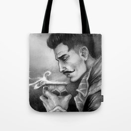 Dragon Age Inquisition - Dorian Pavus - Morning tea Tote Bag
