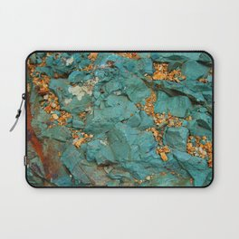 Gold and Copper Laptop Sleeve