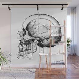 Skull 3 Wall Mural