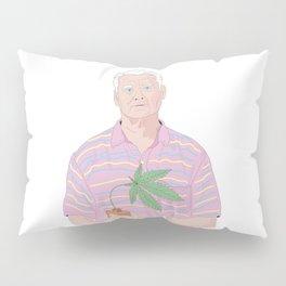 Bill Murray holding a pot Pillow Sham
