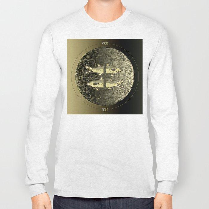 Planetary Mood 5b / Vertical Divergence 10-02-17 Long Sleeve T-shirt