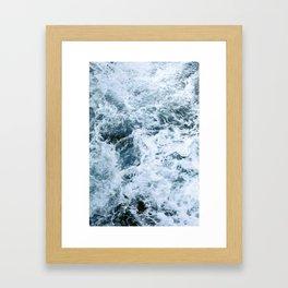 Barbarian Waves Framed Art Print