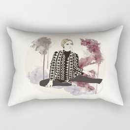 factory girl Rectangular Pillow