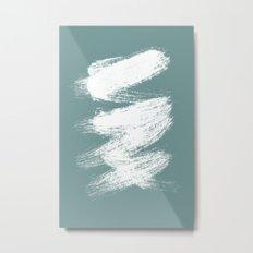 ZIGZAG - blue palette Metal Print