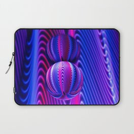 Colours in Invert Glass Ball Laptop Sleeve