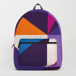 Abstract modern geometric background. Composition 5 Backpack