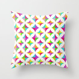 Colour Block 2 Throw Pillow
