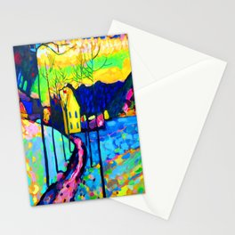 Wassily Kandinsky Winter Landscape Stationery Cards