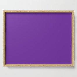 Matching Purple Serving Tray