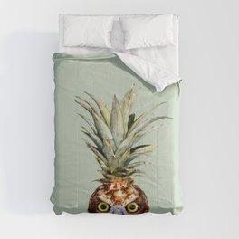 PINEAPPLE OWL Comforters