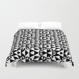 Geometric Tile Background Duvet Cover