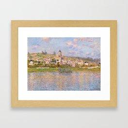 1879-Claude Monet-Vetheuil-60x81 Framed Art Print