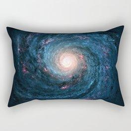 Galaxy Tornado Full of Stars Rectangular Pillow
