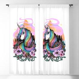 Majestic Unicorn Blackout Curtain