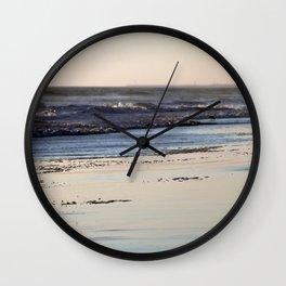 Beach Sunset Ormond Beach Wall Clock