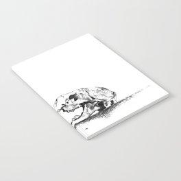 mittens - cat skull Notebook