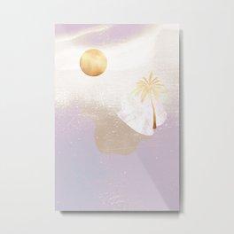 Lavender Island Metal Print