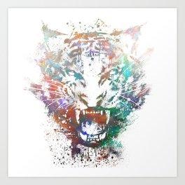 Cosmic Fury Art Print