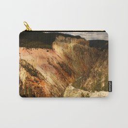 Yellow Rocks Of The Yellowstone Valley Carry-All Pouch