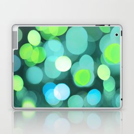 Cyan Light Laptop & iPad Skin