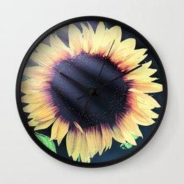 Sunflower Yellow Flower Cottage Kitchen Art Modern Country Art A586 Wall Clock