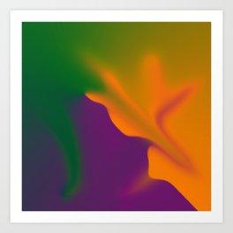 Aura Inflation Art Print