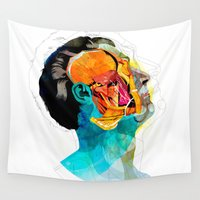 ford Wall Tapestries featuring Anatomy [Ellis+Ford] by Alvaro Tapia Hidalgo
