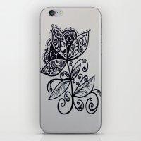 fierce iPhone & iPod Skins featuring fierce by lindsay marie