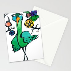 Indifferent in the Garden Stationery Cards