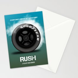 Rush - Alternative Movie Poster Stationery Cards