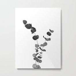 Eucalyptus Leaves Dream #2 #foliage #decor #art #society6 Metal Print