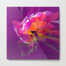 polygone attack Metal Print