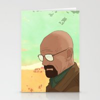 gta Stationery Cards featuring GTA Walter White by dbarroso